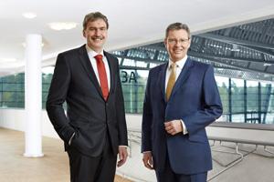 Peter Ottmann und Dr. Roland Fleck; CEOs NuernbergMesse Group